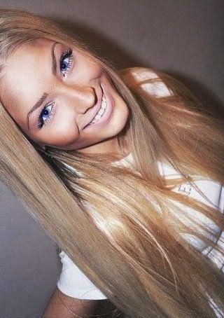 Модное мелирование светлых и русых волосах