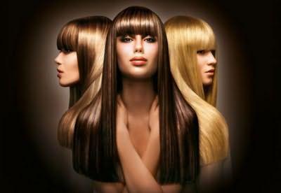 Фото 3д окрашивания на волосах разного цвета