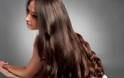 Окрашивание на темных волосах