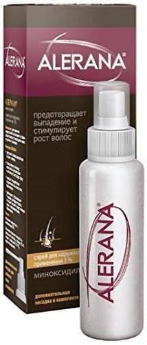 алерана alerana спрей против выпадения волос
