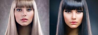 Брондирование волос ультрамодная разновидность мелирования
