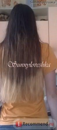 Волосы после омбре
