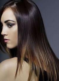 балаяж на темные волосы6
