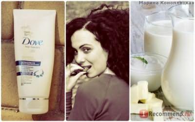 Маска-бальзам для волос Dove Hair Therapy Интенсивное восстановление фото