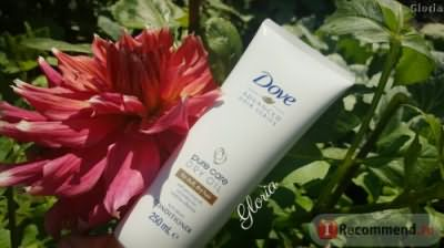 Бальзам для волос Dove pure care dry oil for dull, dry hair фото