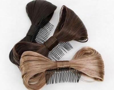Прикрепить такие бантики для волос своими руками не составит труда.