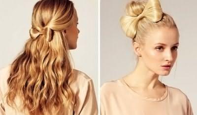 Как сделать прическу бантик из волос – вопрос, который нередко задают обладательницы длинных локонов, это и не удивительно, ведь задорный бант в свое время примерили Леди Гага и Перис Хилтон