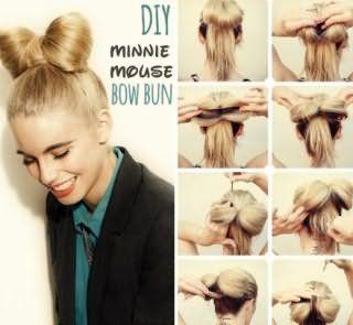 Как сделать прическу бант из волос: пошаговая техника на фото