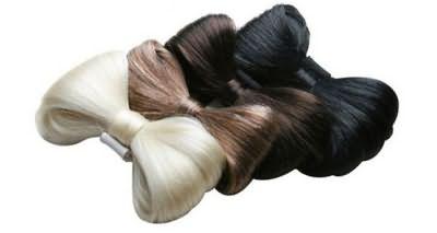 Резинки из искусственных волос