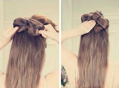 Как вязать волосы