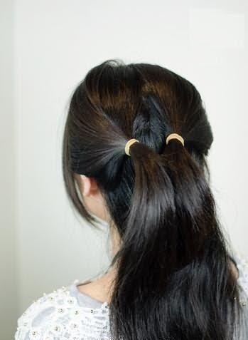 Как нужно разделить волосы