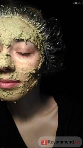 Сама маска на лице