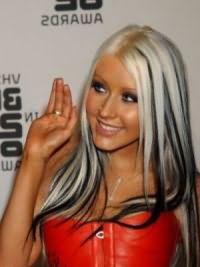 белые волосы 4