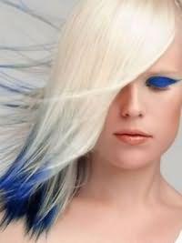 белые волосы 5