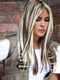 белые волосы 6