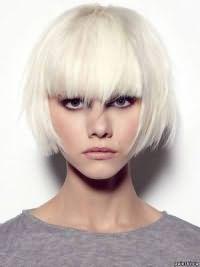 белые волосы 9