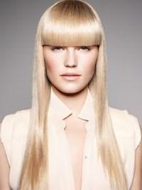 белые волосы 11