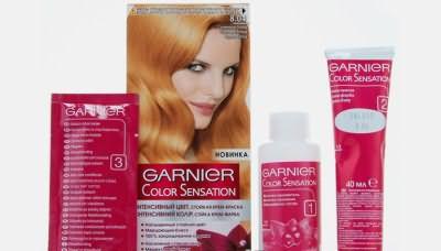 Крем-краска для волос Гарньер