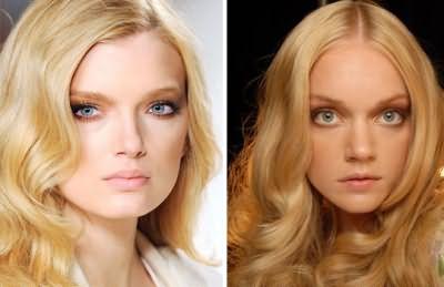 Результат окрашивания - краска для волос бежевый блондин Prestige №203