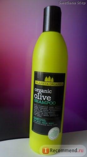Шампунь Planeta Organica Organic Olive фото