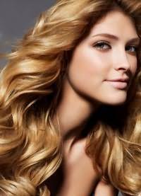 прическа крупные локоны на длинные волосы 2
