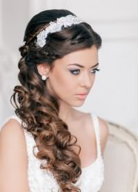 прическа крупные локоны на длинные волосы 5