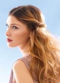 прическа крупные локоны на длинные волосы 9