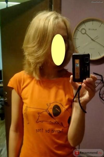 """Сушка с круглой расчёской. По мне, укладка выглядит довольно дорого, чего не получалось на """"живых"""" волосах"""