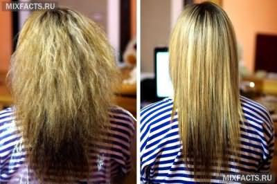 Кератиновое выпрямление и ботокс для волос