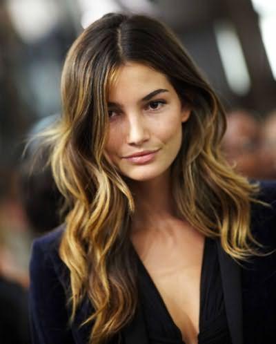 Фото брондированных волос