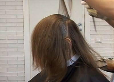 Окрашивание волос брондирование 1
