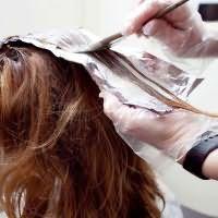 брондирование волос дома1
