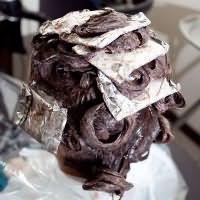 брондирование волос дома3