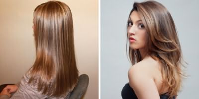 Брондирование светло-русых волос