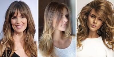 Девушки с классическим брондированием волос