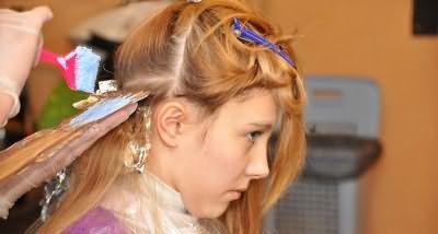 Техника брондирования русых волос