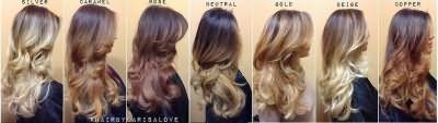 Окрашивание Ombre hair color