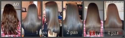 Трансформация моих волос.