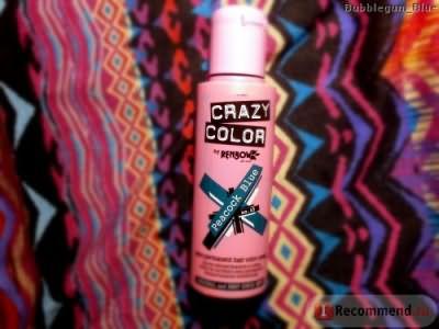 Краска для волос без аммиака Crazy color фото