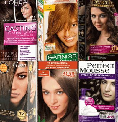 Краска для волос: цвет капучино на любой вкус