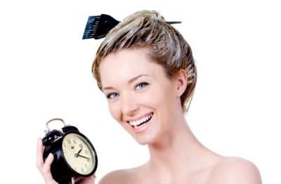 При домашней процедуре внимательно следите за временем!