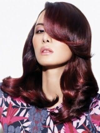 Выбор краски для волос - насыщенный темный цвет