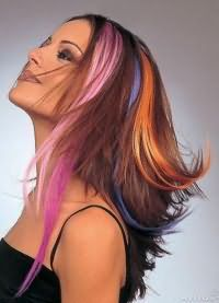 оттеночный лак для волос 4