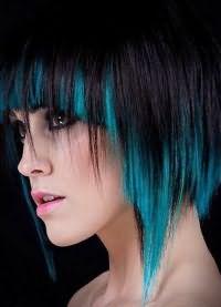 цветные пряди волос 3
