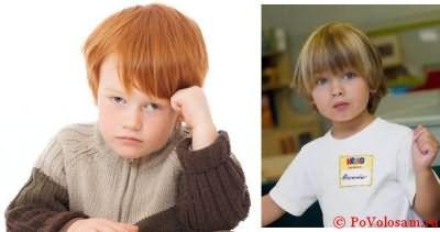 Стрижки для мальчиков 3 лет