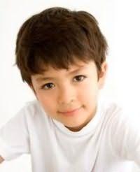 Прическа для мальчика на короткие волосы
