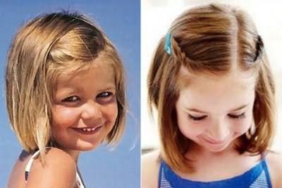 С гладкой укладкой даже будучи маленькой девочкой можно выглядеть гламурно и стильно