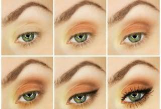 Как сделать правильный макияж глаз для обладательниц рыжих волос – инструкция на фото