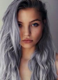 Как получить серый цвет волос в домашних условиях