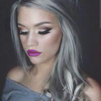 Как окрасить волосы в серый цвет